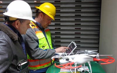 Using Drones to Survey Existing Conditions