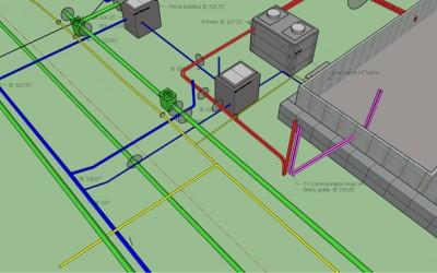 BIM for Site Work and Utilities Analysis