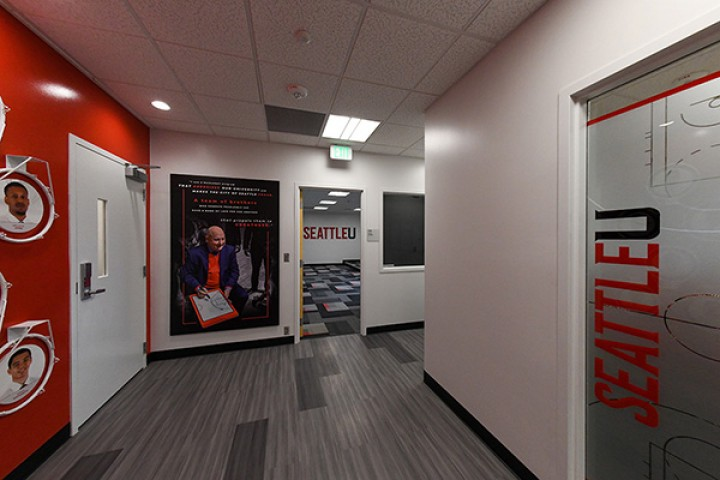 Seattle University Basketball Coach's Offices